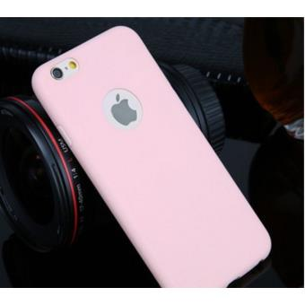 Coque Silicone Couleurs IPHONE 5 5S APPLE Mat Ultra Mince Protection Gel Souple Houe Etui ROSE PALE
