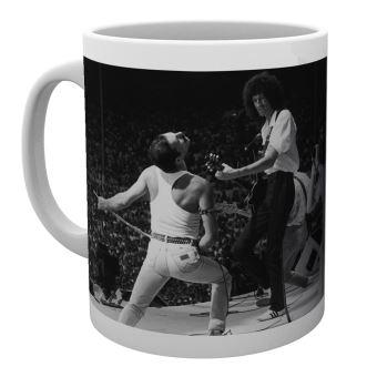 Tasse de ceramique Queen Live
