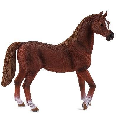Mgm - 387084 - figurine animal - cheval etalon arabe alezan xl - 11 x 12 cm animal planet ft-7084