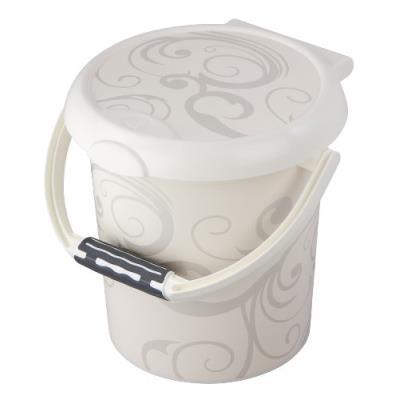 Rotho babydesign poubelle à couches - sérigraphie - gamme vintage - blanc