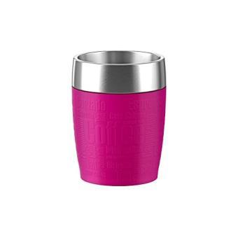 EMSA TRAVEL CUP 0.2L INOX FRAMBOISE