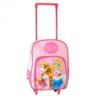 sac roulettes princesses cartable fille cr che et maternelle 30 cm cartable sac dos. Black Bedroom Furniture Sets. Home Design Ideas
