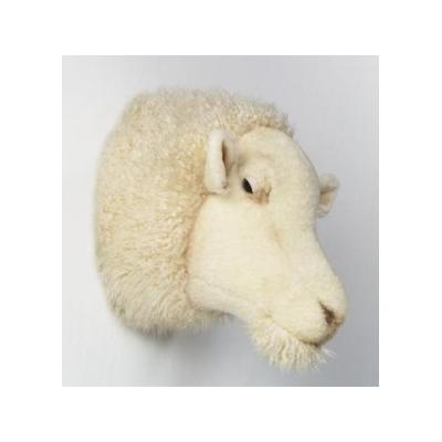 Bibib and Co - Peluche trophée mouton