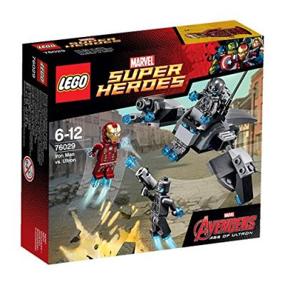 Lego super heroes - marvel - 76029 - jeu de construction - iron man contre ultron