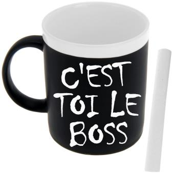 coffret tasse a caf mug ardoise m mo fun a inscrire pour messages vaisselle top prix fnac. Black Bedroom Furniture Sets. Home Design Ideas