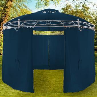 Tonnelle Toscana Bleu - 3,5 m - Pavillon - Tente de jardin - Barnum ...