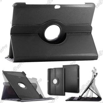 ebestStar ® pour Samsung Galaxy Tab 2 10.1, GT-P5110 P5100 - Housse Coque Etui PU cuir rotatif avec support à rotation 360° Film protection d'écran, ...