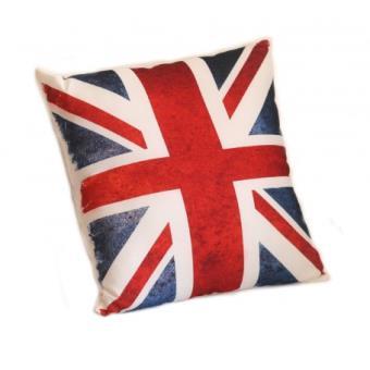 Coussin british drapeau anglais carré - Coussins