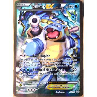 Carte pok mon xy122 tortank ex 180 pv full art promo - Coloriage carte pokemon ...