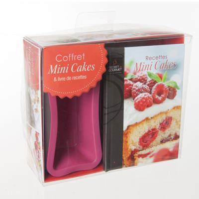 Coffret Mini-Cakes et livre de recettes