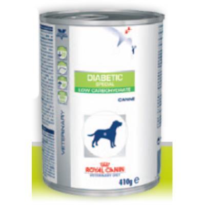 Croquettes royal canin veterinary diet diabetic pour chiens 12 boîtes de 410 g