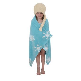La Reine des neiges - Serviette de bain (cape) Elsa 120 x 80 cm, Boucle de  ceinture, Top Prix   fnac c3b0285cea3f