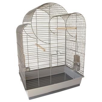 Cage oiseaux lola 54x34x75cm equipee - Cages et Accessoires oiseaux - Achat    prix   fnac 17004679ee67