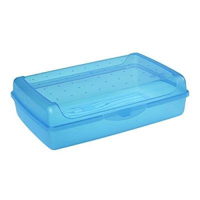 Okt 2053900 click-boîte plastique bleu transparent taille maxi 10695632000