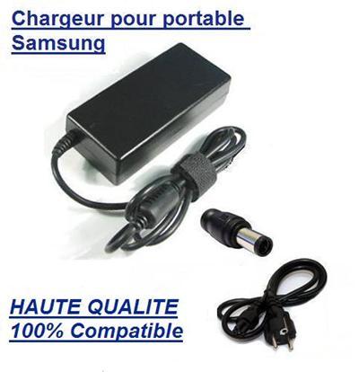 Alimentation Chargeur Pc Portable Adaptateur Secteur Portable Pour Samsung R530 Red Gloss 90w Cables D Alimentation Achat Prix Fnac