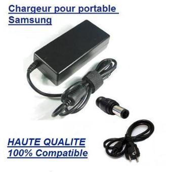 Alimentation chargeur pc portable adaptateur secteur - Batterie ordinateur portable samsung r530 ...