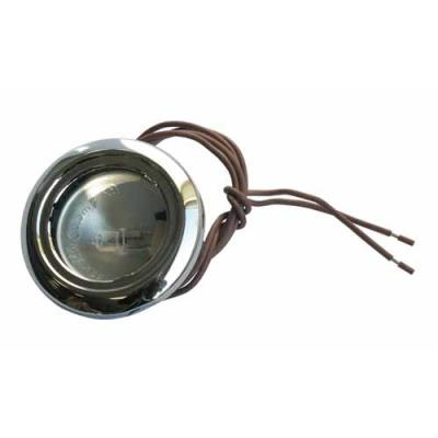 Airlux Lampe Halogene 20w ø 55 M/m Noire Ref: Z00sp026500c