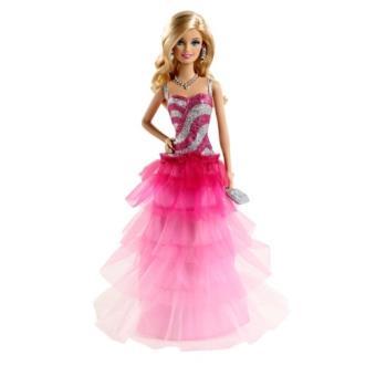 Asst Barbiepinkamp; Fashion Bfw18 Rose FabulousPoupée De bfw16 Soirée Robe VSzpqMU