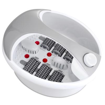 Rio Appareil de massage et spa pour pieds Deluxe 90 W gris blanc