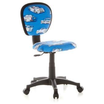 siège de bureau enfant motif voitures pivotant 100coton top office hjh tissu bleu 670150 kiddy shtdQrC