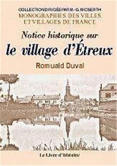 Notice historique sur le village d'Étreux