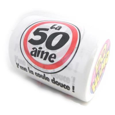 Rouleau WC '50 ans'