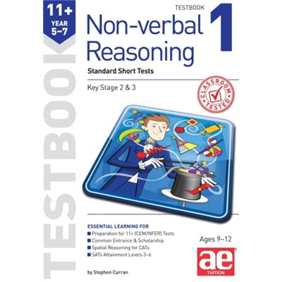 11+ Non-Verbal Reasoning Year 5-7 Testbook 1: Multiple Choice Tests (Paperback)