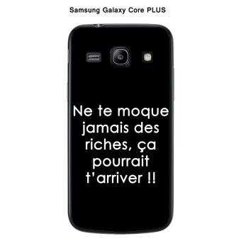 Coque Samsung Galaxy Core Plus G3500 design Citation