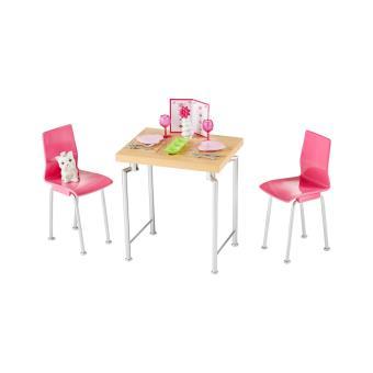 accessoires table de cuisine barbie mattel achat prix fnac - Cuisine Barbie