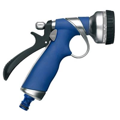 Tatay 0051701 Pistolet 8 Positions Métal Bleu Dimensions 15 X 6 X 22 Cm