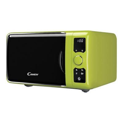 Candy EGO G25DCG - four micro-ondes grill - pose libre - vert métallisé