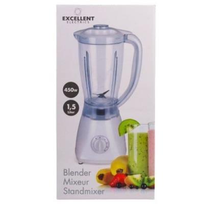 mixeur electrique pro blender robot de cuisine hachoir jus fruit 1,5l 450w