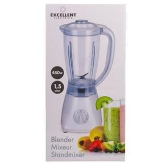 Mixeur Electrique Pro Blender Robot De Cuisine Hachoir Jus Fruit 1 5l 450w