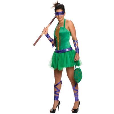 Déguisement de Donatello des Tortues Ninja pour femme - L - Déguisement  adulte - Achat   prix   fnac 74e5f152cce7
