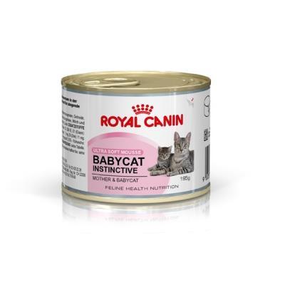 Boîte pour chats royal canin babycat instinctive - boîte 195 g