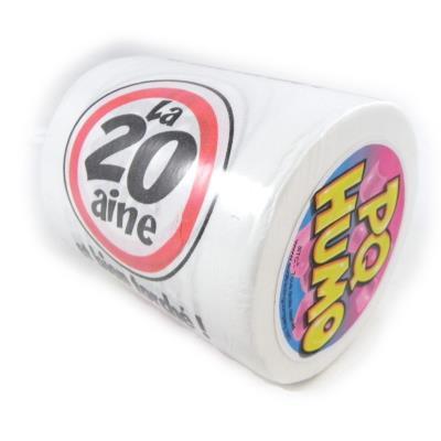 Rouleau WC '20 ans'