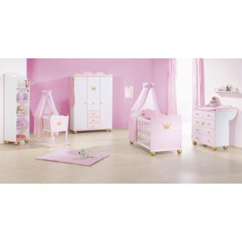 pinolino lit b b volutif et commode langer princesse caroline chambres enfant. Black Bedroom Furniture Sets. Home Design Ideas