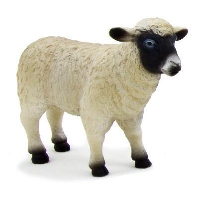 Mojo figurine jouet de collection mouton brebis peint à la main réplique ferme animal 387058 animal planet ft-7058
