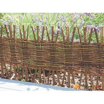 Bordure de jardin à planter en bois freeborder - Décoration ...
