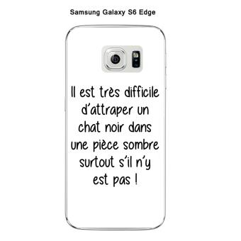 coque galaxy s6 edge chat