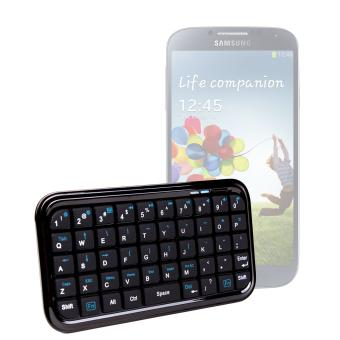 clavier mini bluetooth sans fil pour smartphone samsung galaxy s4 i9500 autres achat. Black Bedroom Furniture Sets. Home Design Ideas
