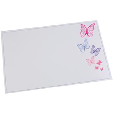 Läufer sous-mains durella emotion, motif: butterfly lufer 43611