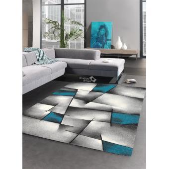 80 Sur Tapis Salon Design En Polypropylene Triangula Tapis Moderne
