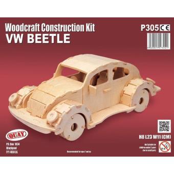 maquette en bois voiture coccinelle achat prix fnac. Black Bedroom Furniture Sets. Home Design Ideas