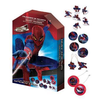 Calendrier De L Avent Spiderman.Calendrier De L Avent Spiderman Moyenne Figurine Achat