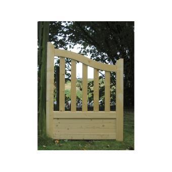 Portillon jardin bois Gand - 1 x 1.30 x 1.10m - Achat & prix | fnac