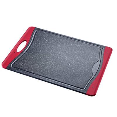 Westmark 6216224g planche à découper moyen plastique granit/rouge 37 x 26 x 1 cm