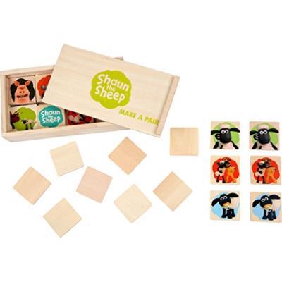 Small foot design (smb5w) - 1253 - jeu de société - shaun le mouton - jeu de memory
