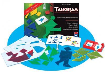 DUJARDIN - Serie noire tangram 4