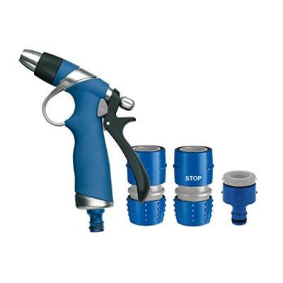 Tatay 0007801 Kit Pistolet Métal Plus Plastique Bleu